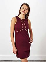 Бордовое платье Miss Selfridge, фото 2