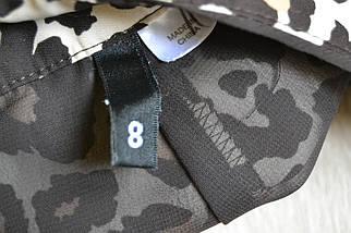 Леопардовые шорты на высокой посадке H&M, фото 3