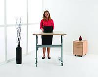 501-27-7S 084: Эргономичный компьютерный стол-парта для работы сидя-стоя для детей и школьников