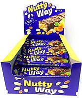 Ореховый батончик-мюсли с фруктами в глазури Nutty Way 40гр.
