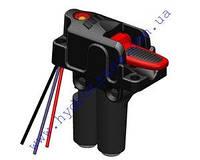 """Включатель  """"N-GAGE 3"""" пневматический коробки отбора мощности в кабину с LED инд-м OMFB (Италия)"""