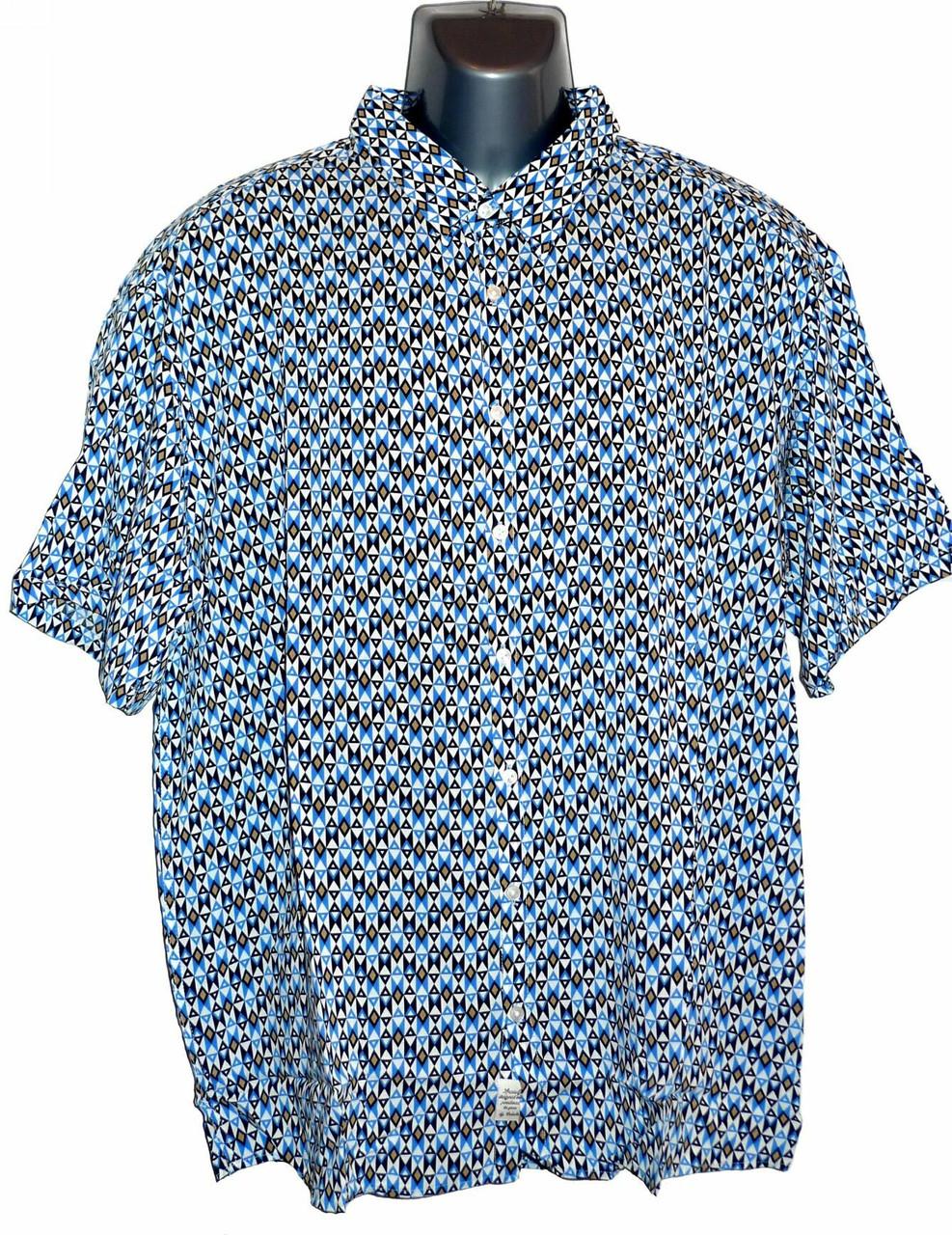 Сорочка мужская большой размер (Турция)