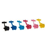 Набор цветных заглушек для доноров СНПЧ, 12 мм, 6 шт (P6.ISB)