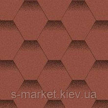 Акваизол Мозаика Красный мак Битумная черепица