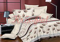 Комплект постельного белья полуторный 150*220 сатин (5698) TM KRISPOL Украина