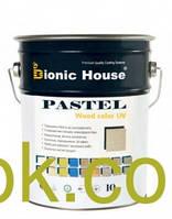 Bionic-House PASTEL Wood color- Краска антисептического действия 10 л
