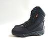 Черные текстильные тактические демисезонные ботинки берцы на змейке Delta Cordura (копия), фото 3