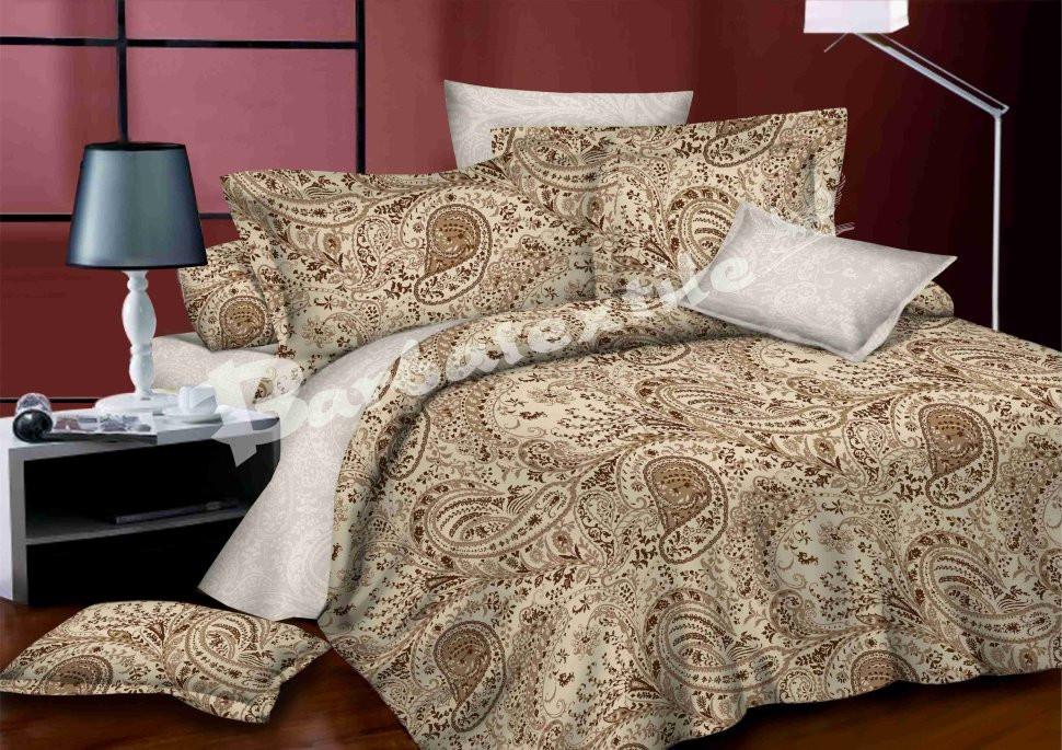Комплект постельного белья полуторный 150*220 сатин (6559) TM KRISPOL Украина