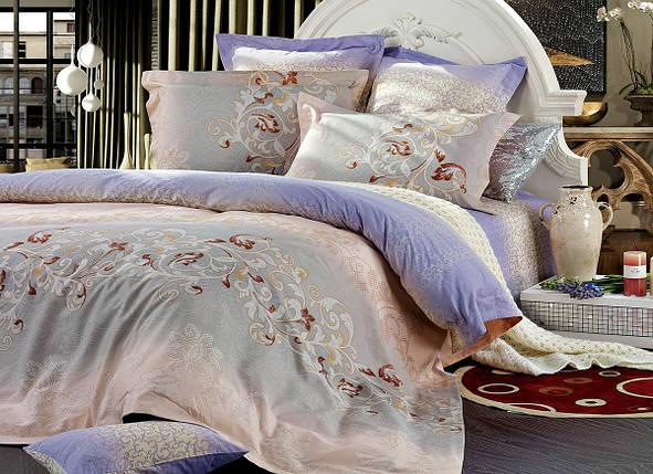 Полуторный комплект постельного белья 150*220 сатин (7472) TM KRISPOL Україна, фото 2