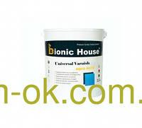"""Панельный лак для дерева на водной основе """"Bionic House""""  0,8 л"""