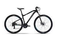 """Велоспед HAIBIKE SEET HARDNINE 1.0 29"""", рама 50 см, 2017, черный"""