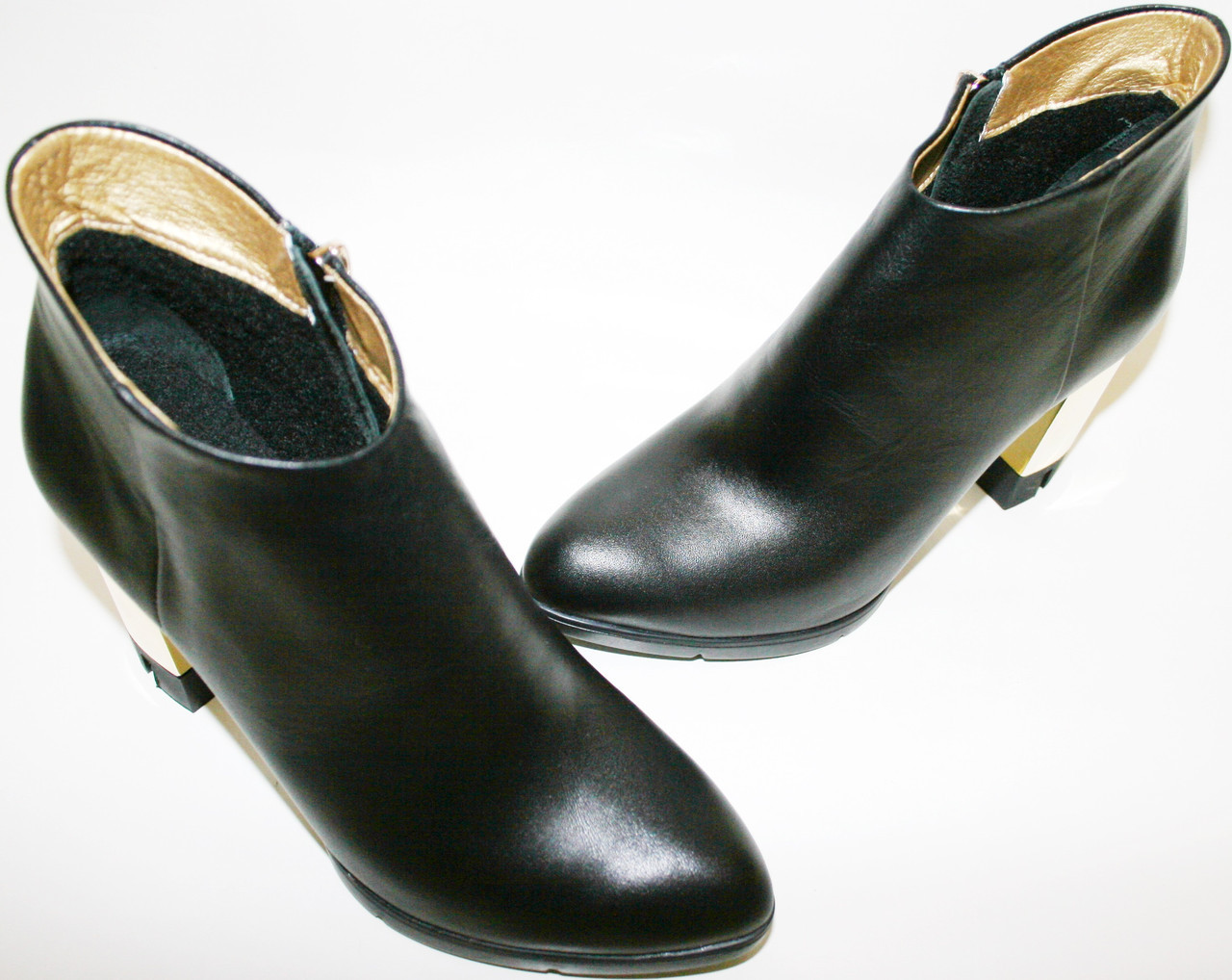 Женские ботильоны Jina кожаные