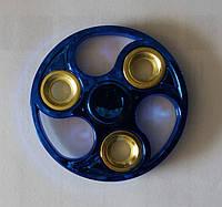 Синий круглый спиннер, оптом оригинальные Spinner 196