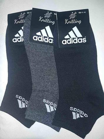 Носки мужские в стиле Adidas реплика 41-45 стрейч, фото 2