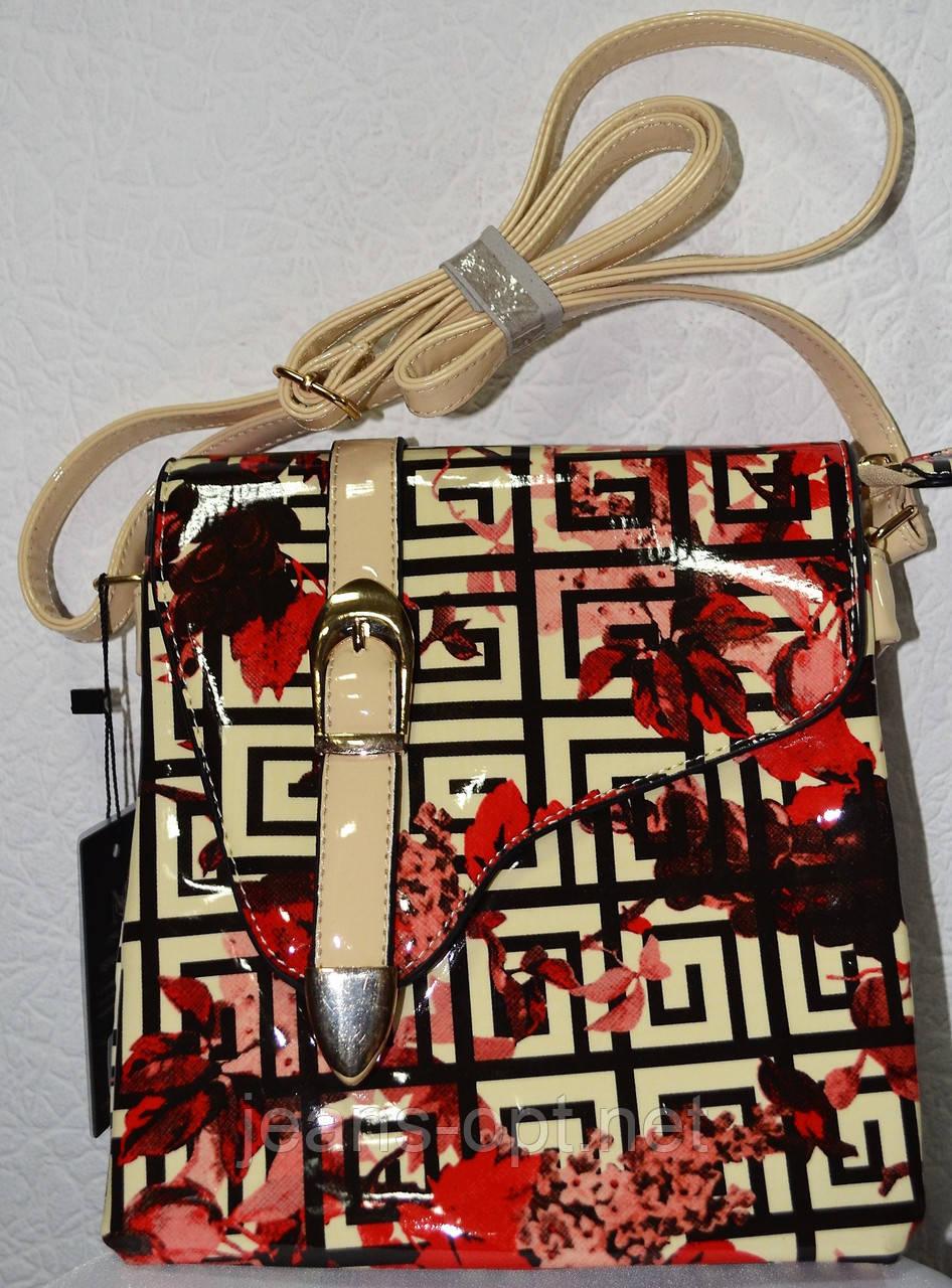 Лакова жіноча сумочка 0607-7