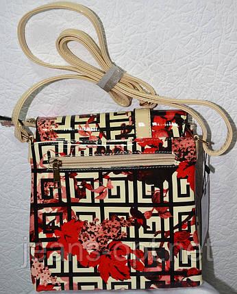 Лакова жіноча сумочка 0607-7, фото 2