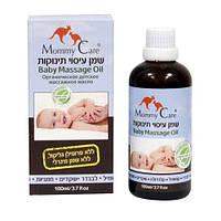 Миндальное масло для массажа младенцев с лавандой, ромашкой, органич. геранью, календулой(100 мл,IL)