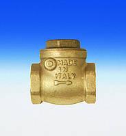 Клапан обратный колокольного типа FIV DN40 с металлическим затвором