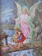 Ангел-хранитель (полная выкладка) 20*25 см