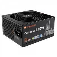 Блок питания Thermaltake Cologne 730W (W0394RE), 1x120мм, питания для видеокарт 4x6+2 pin, 80 PLUS Bronze
