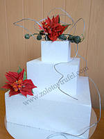Муляжи для торта квадратные и прямоугольные