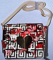 Лаковая женская сумочка 0607-8