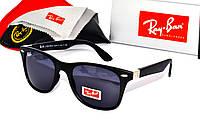 Модные черные очки Ray Ban Wayfarer,Вайфарер