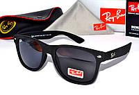 Модные очки черные,Ray Ban Wayfarer,Вайфарер