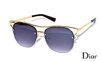 Модные солнцезащитные очки женские Dior