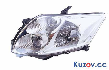 Фара Toyota Auris 06-09 правая (Depo) электрич. 212-11M5R-LD-EM