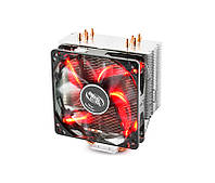 Кулер Deepcool GAMMAXX 400 Red, 121x75.5x144мм 900-1600 об/мин LGA2011-v3/2011/1366/1150/51/55/56/775/FM1/2/AM2/2+/AM3/3+/AM4/K8