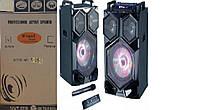 """Акустическая система WIMPEX WX 7315-12 12""""X2  Дистанционный пульт, микрофон Bluetooth"""