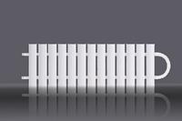 Конвектор стальной отопительный однорядный АККОРД-М