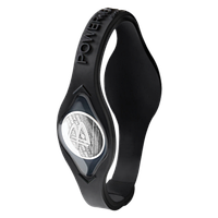 Power Balance BC Black with Black Lettering & Silver Hologram