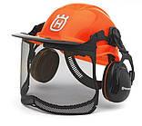Шлем защитный Husqvarna Functional, с наушниками