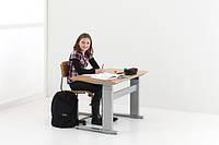 501-27-7S 133: Эргономичный компьютерный стол-парта с электроприводом для детей и школьников