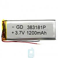 Аккумулятор GD 383181P 1200mAh Li-ion 3.7V