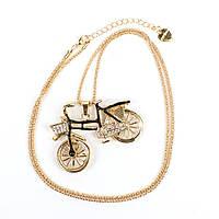 Ожерелье Betsey Johnson Cute Bicycle копия