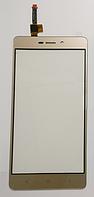 Оригинальный тачскрин / сенсор (сенсорное стекло) для Xiaomi Redmi 3 | 3 Pro | 3s | 3s Prime | 3x (золотой)