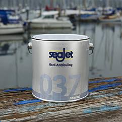 Антиобростайка для лодки и катера темной-синяя 2,5 литра seajet 037 сoastal