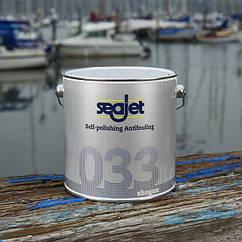 Антиобростайка для лодки и катера с самополировкой голубая 2,5 литра seajet 033 shogun