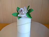 Муляж для торта из пенопласта - круг Ф 12 см h 10 см