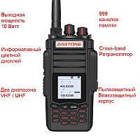 Радиостанция + cross-band ретранслятор Zastone A19