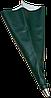 Рукав профессиональный для фугования с металической насадкой, Ø 12 мм (50х27 см) KLVIV MIX FUGA