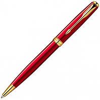 Шариковая ручка Parker Sonnet Laque Ruby Red GT BP красная с позолотой 85 932R