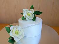 Муляж для торта из пенопласта - круг Ф 24 см h 10 см