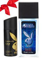 Набор Playboy (Дезодорант Playboy VIP + Туалетная вода PLAYBOY SUPER PLAYBOY)