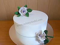Муляж для торта из пенопласта - круг Ф 40 см h 10 см