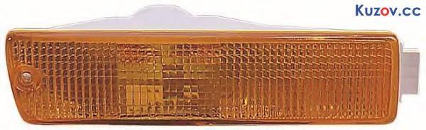 Указатель поворота в бампере VW Jetta Ii 84-92 левый, желтый (Depo) 1919531551, фото 2