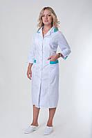 Медицинский халат со вставками от производителя